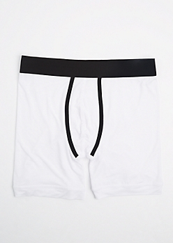 White Super Soft Boxer Brief