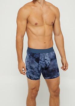 Navy Tie Dye Super Soft Boxer Brief