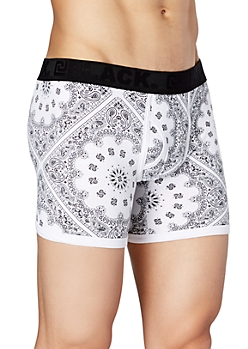 White Bandana Boxer Brief