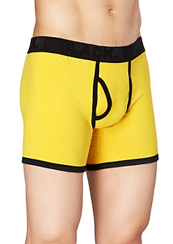 Yellow Boxer Brief