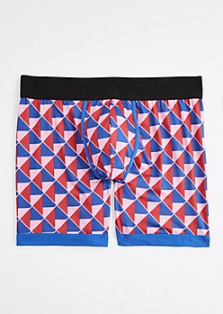 Geo Triangle Flex Active Boxer Brief