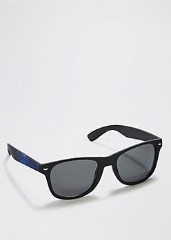 Blue Galaxy Retro Sunglasses
