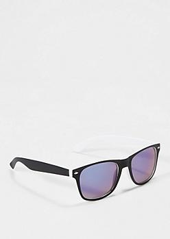 Black To White Matte Sunglasses