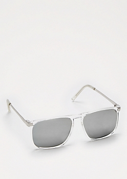 Squared Clear Sunglasses