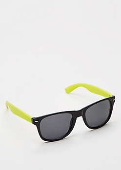 Yellow Retro Smoky Sunglasses