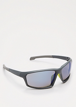 Gray Smoky Lens Sport Sunglasses