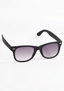 Matte Retro Sunglasses