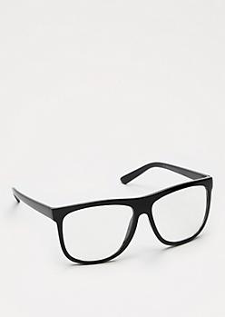 Oversized Black Glasses