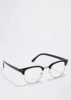 Black Half Frame Readers
