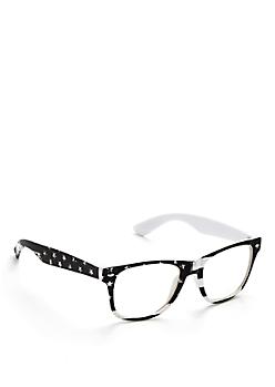 Americana Clear Lens Glasses