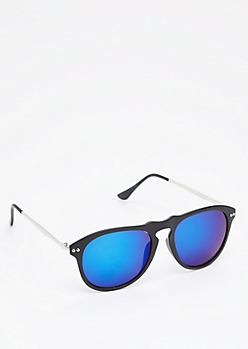 Black Matter Keyhole Sunglasses