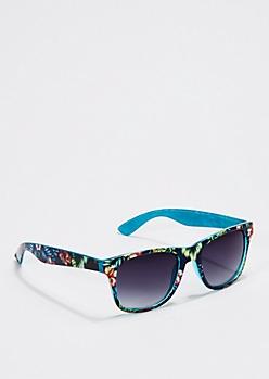 Retro Tropical Paradise Sunglasses