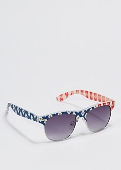 Matte Tribal Americana Sunglasses