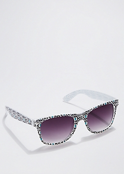 Digital Aztec Frosted Sunglasses