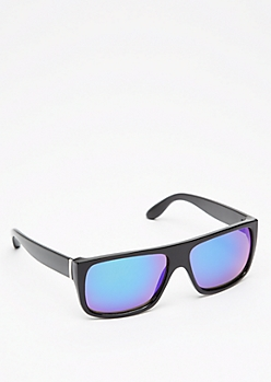 Squared Retro Mirror Sunglasses