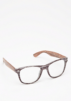 Wooden Frame Glasses