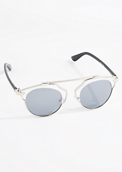 Abstract Browbar Sunglasses