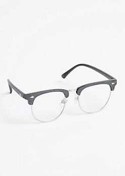 Retro Browline Glasses