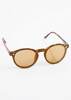 Tortoiseshell Keyhole Sunglasses