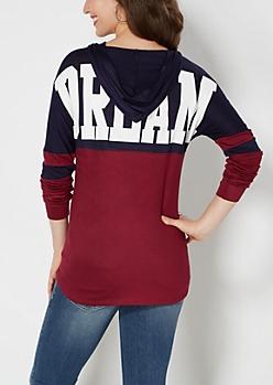 Hooded Dream Varsity Top