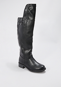 Buckled Moto Boot