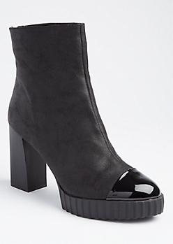 Platform High Heel Booties