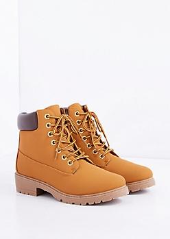 Tan Hiking Boot