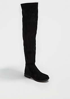 Microsuede Over-The-Knee Boot By Bamboo®