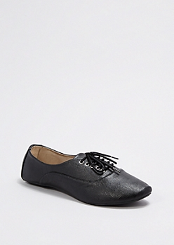 Black Classic Oxford Shoe