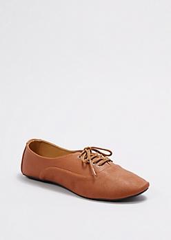 Cognac Classic Oxford Shoe