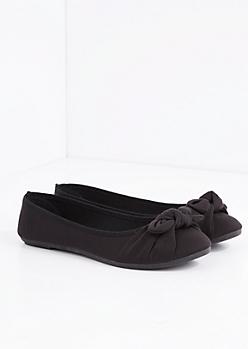 Black Bow Tie Flat
