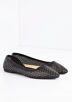 Geo Cut-Out Studded D