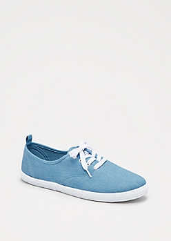 Chambray Low Top Sneaker