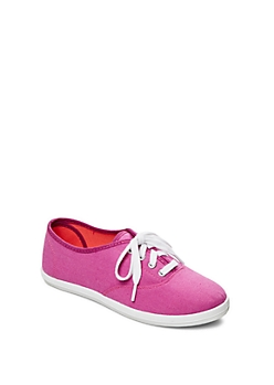 Pink Color Bomb Canvas Sneaker By Wild Diva&Reg;