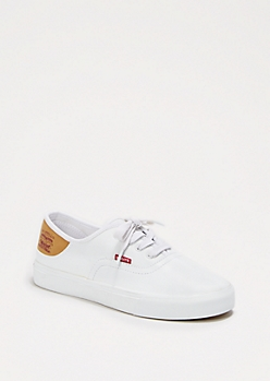 Faux Leather Low Top Sneaker By Levi's®