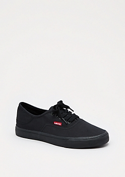 Black Canvas Low Top by Levi's®