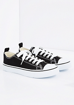 Black Classic Canvas Sneaker