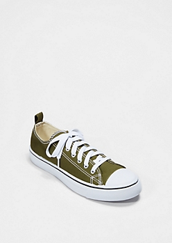 Light Olive Classic Canvas Sneaker