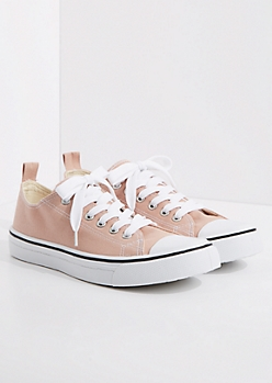 Dusty Pink Classic Canvas Sneaker