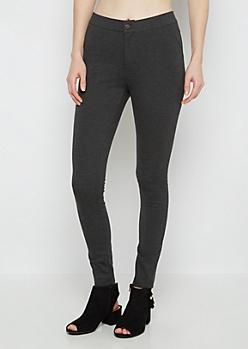 Gray Better Butt Ponte Pant