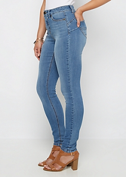 Better Butt Flex High Waist Vintage Jegging in Curvy