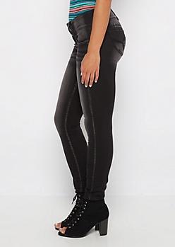 Better Butt Black Vintage 3-Shank Skinny Jean