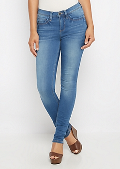 Flex Medium Soft Brushed Jegging in Curvy