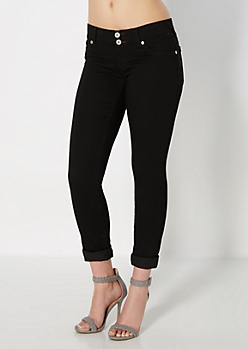 Black 2-Shank Jegging in Curvy