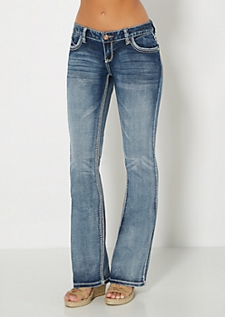 Washed Boot Jean in Curvy