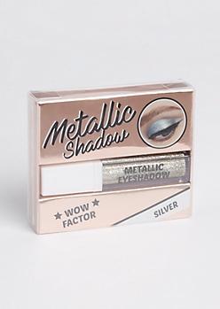 Silver Metallic Liquid Eyeshadow