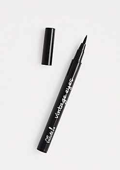 Vintage Eyes Black Eyeliner Pen