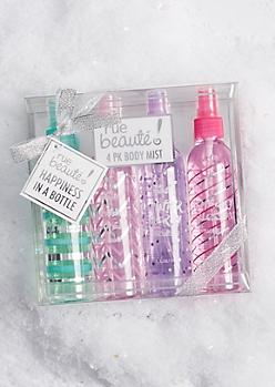 4-Pack Body Mist Gift Set
