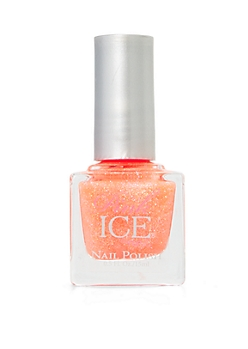 Orange Fairy Dust Pink Ice Nail Polish