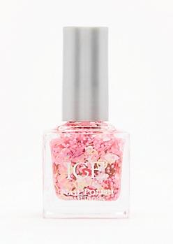 Pink Emoji Confetti Nail Polish